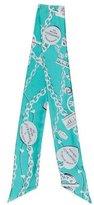 Tiffany & Co. Chain-Link Silk Ascot