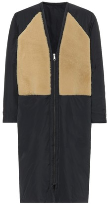 Kassl Editions Reversible shearling-lined coat