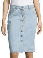 Levi's Button-Down Denim Skirt