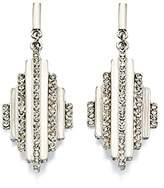 Fiorelli Costume Fashion Ringed Diamond Earrings