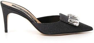 Sergio Rossi Embellished Mules