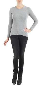 School Rag PHOEBE SUPER SLIM COMFORT women's Skinny Jeans in Grey
