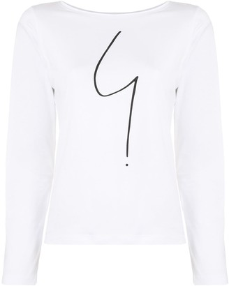 agnès b. Australie long-sleeved T-shirt
