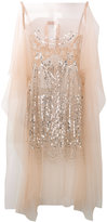 No.21 sequin embellished sheer blouse