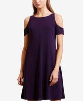 Lauren Ralph Lauren Petite Cutout Jersey Dress