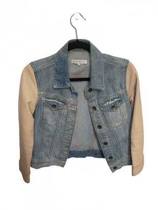 Sandro Blue Denim - Jeans Leather jackets
