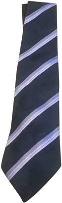 Louis Vuitton Purple Silk Ties