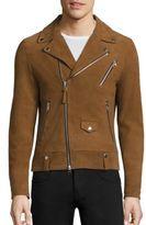 Mackage Fenton Suede Moto Jacket