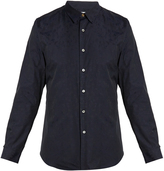 Paul Smith Floral-jacquard cotton shirt