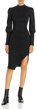 Jonathan Simkhai Asa Puff Sleeve Sweater Dress