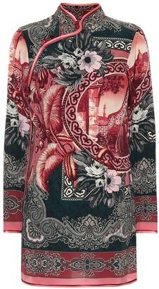 F.R.S For Restless Sleepers Aura silk shirt dress