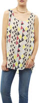 Tribal Jeans Colorful Tunic Tank