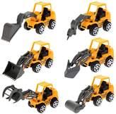 Chinatera 6X Kids Mini Car Toys Lot Engineering Vehicle Sets Kids Preschool Educational Toys