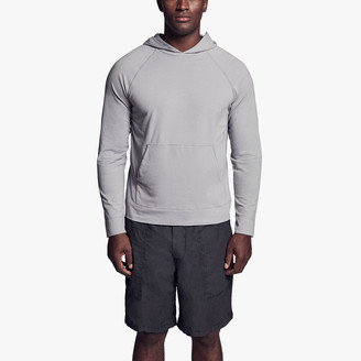 James Perse Brushed Stretch Jersey Hoodie