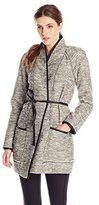 Rebecca Taylor Women's Stretch Tweed Coat