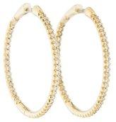 Roberto Coin 18K Diamond Hoop Earrings