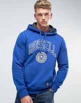 Russell Athletic Rosette Logo Hoodie