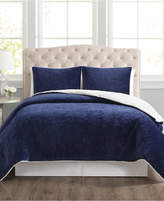 Pem America Closeout! Truly Velvet 3-Pc. Reversible Full/Queen Comforter Set Bedding