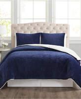 Pem America Closeout! Truly Velvet 3-Pc. Reversible King Comforter Set Bedding