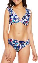 Liz Claiborne Floral Bra Swimsuit Top