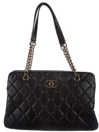 Chanel Quilted Versailles Shoulder Bag