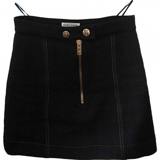 Sonia Rykiel Blue Wool Skirt for Women