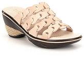 Jambu Romance Braided Leather Sandals