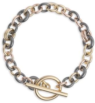 Spinelli Kilcollin Atlantis 18K Yellow Gold & Black Rhodium-Plated Chain Bracelet