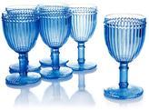 Le Cadeaux Milano Set of 6 Plastic Wine Glasses