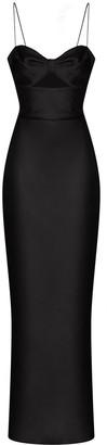 Rasario Cut-Out Sleek Gown