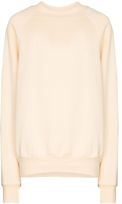 LES TIEN Crew-Neck Cotton Sweatshirt