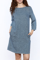 Studio 412 Denim Shift Dress