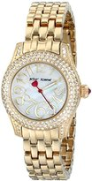 Betsey Johnson Women's BJ00193-06 Analog Display Quartz Gold Watch