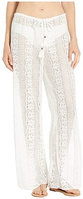 Becca by Rebecca Virtue Poetic Sheer Lace Pants Cover-Up