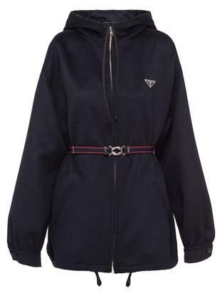 Prada Cashgora Caban Jacket