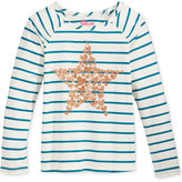 Epic Threads Mix and Match Star Graphic-Print Striped T-Shirt, Toddler Girls (2T-5T) & Little Girls (2-6X), Only at Macy's