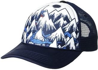Smartwool Mountain Ventures Trucker Cap (Deep Navy) Caps