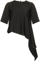 Vanessa Bruno Dasher asymmetric satin top
