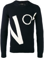 No.21 brand motif jumper - men - Cotton - XS
