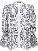 Alexander McQueen Broderie Anglaise Tunic Shirt