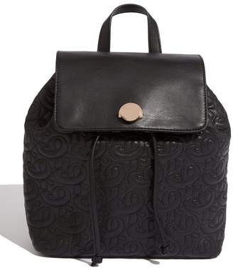 Oasis Womens Black Quilted Backpack - Black
