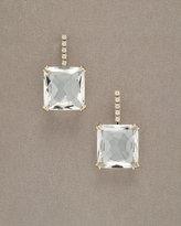 Cobblestone Crystal Quartz Drop Earrings