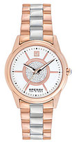 Sperry Audrey Stainless Steel & Rose Watch
