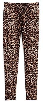 Aqua Girls' Leopard Print Leggings, Big Kid - 100% Exclusive