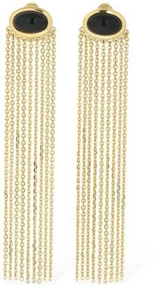 Aurélie Bidermann Bronx Clip-on Onyx Earrings