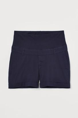 H&M MAMA Chino Shorts - Blue