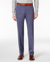 Alfani Men's Slim-Fit Traveler Light Blue Tic Pants, Only at Macy's