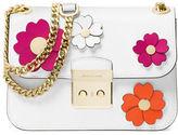 MICHAEL Michael Kors Leather Floral Accent Shoulder Bag