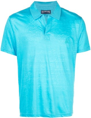 Vilebrequin open collar polo shirt