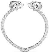 Alexander McQueen Double skull crystal bangle